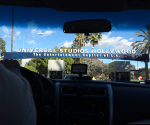 cali, california, and universal studios image