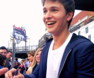 ansel elgort, tfios, and smile image