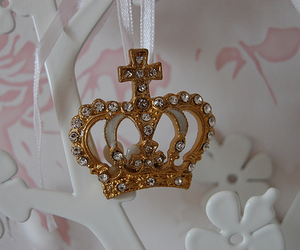 crown, diamond, and gold image