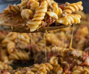 food, pasta, and foodporn image
