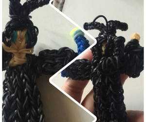 maleficent, loom bands, and loom image
