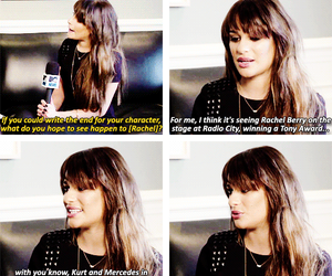 lea michele and quotes image