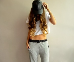 outfit, hair, and hipster image