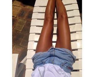 legs and tan image