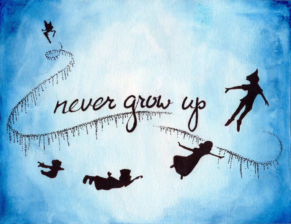 Never Grow Up Shared By TRUE LOVE On We Heart It