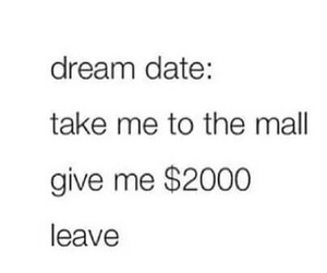 date, Dream, and funny image