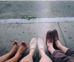 shoes, feet, and vintage image