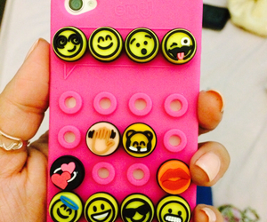 emoji, case, and iphone image