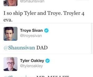 troye sivan, troyler, and tyler oakley image