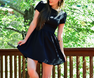 fashion, lbd, and fashion blogger image