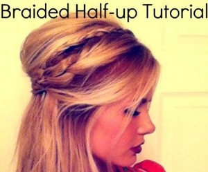 beauty, braids, and hairstyles image