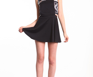 fashion, teens, and little black dress image