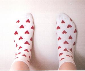 indie, socks, and vintage image