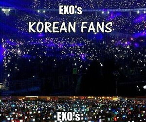 exo and fans image