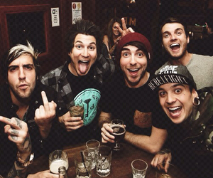 all time low, pierce the veil, and tony perry image