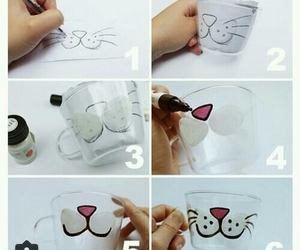 cat, handmade, and cute image