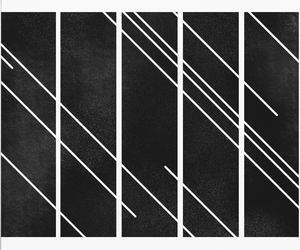 black and white and minimal image