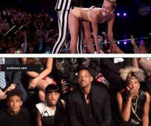 miley cyrus, robin thicke, and miley image