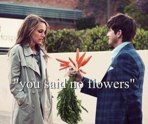 flowers, carrot, and funny image