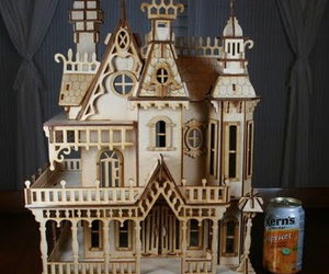 castle, classic, and doll house image