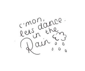 rain, quote, and love image
