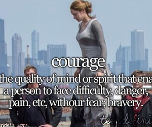 bravery, courage, and definition image