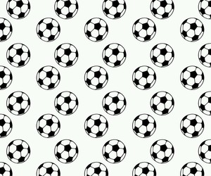 balls, black and white, and football image