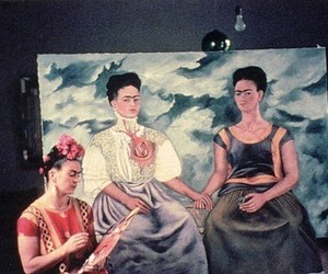 art, frida kahlo, and woman image