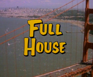 full house and tv image