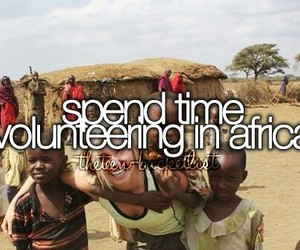 africa and before i die image