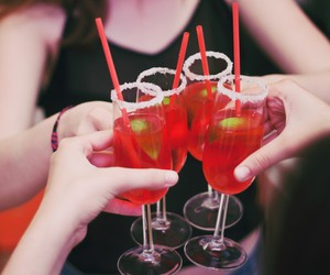 celebration, red, and Cocktails image