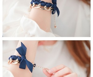 accessories, bow, and bracelet image
