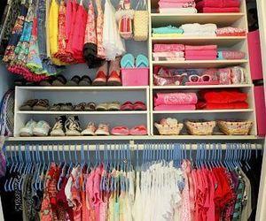 clothes, closet, and wardrobe image