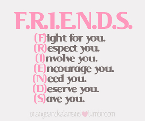 friends, respect, and fight image