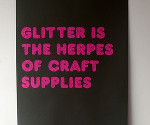 glitter, layout, and quote image