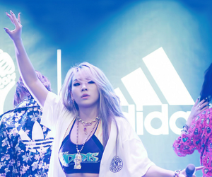 2ne1, CL, and adidas image