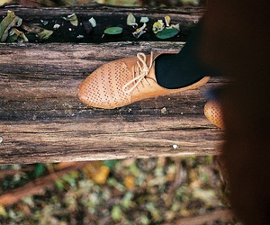 shoes, hipster, and nature image