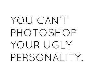 personality, photoshop, and inside beauty image