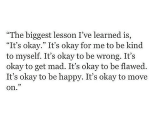 lesson, move on, and quote image