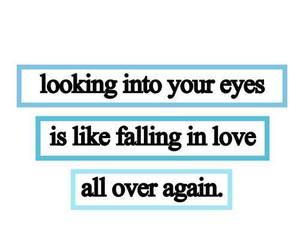 love, eyes, and love quotes image