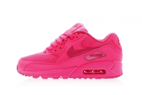 save off d9b02 22dd3 hot titolo nike air max 90 2007 gs 345017 601 hyper pink vivid pink ladies  34501