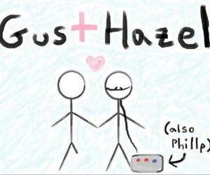 hazel, gus, and the fault in our stars image