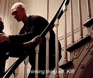 alex pettyfer, kill, and stairs image