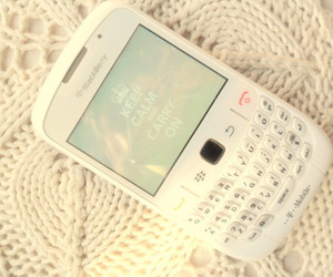 blackberry, white, and keep calm image