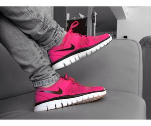 cool, nike, and pink image