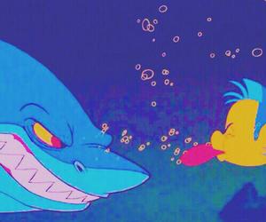disney, flounder, and little marmaid image