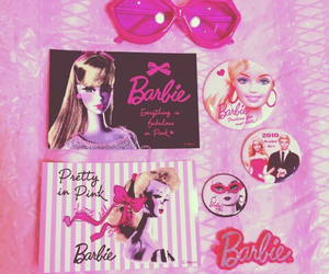 barbie, fairy, and pastel image
