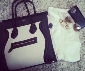 fashion, watch, and bag image