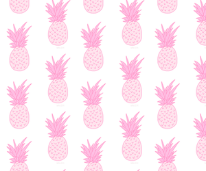 background, iphone, and pineapple image