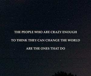 quote, crazy, and world image